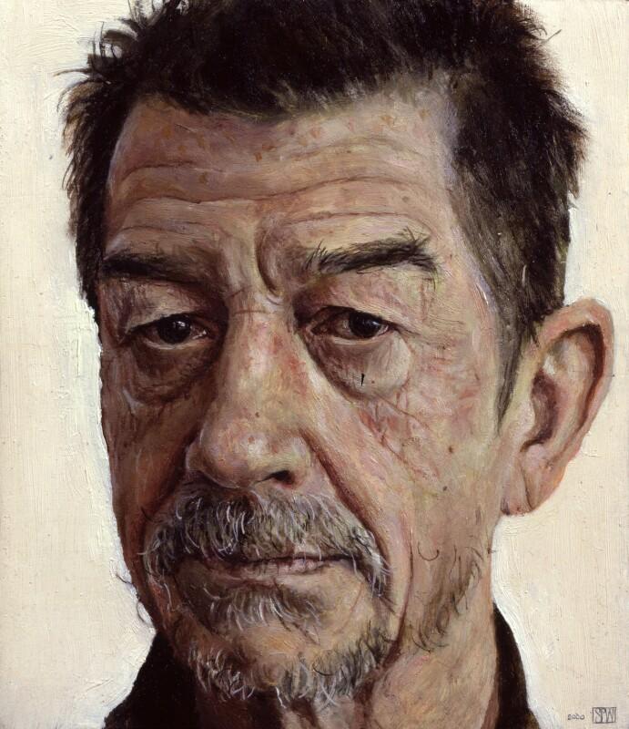 Sir John Hurt, by Stuart Pearson Wright, 2000 - NPG 6541 - © National Portrait Gallery, London