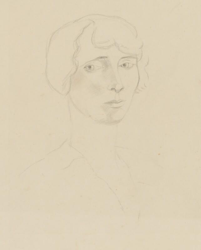 Lydia Lopokova, by Christopher Wood, circa 1924 - NPG 6881 - © National Portrait Gallery, London
