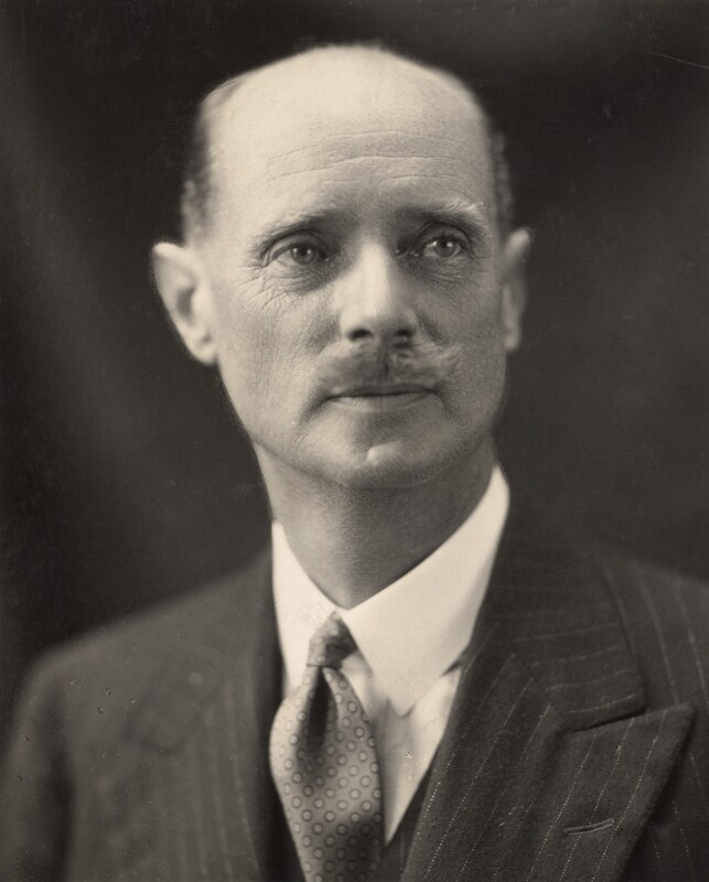 Sir Esmond Ovey, by H. Walter Barnett, or by  Oscar Hardee (Oscar Hardee Blyfield), 1920s - NPG x45446 - © National Portrait Gallery, London