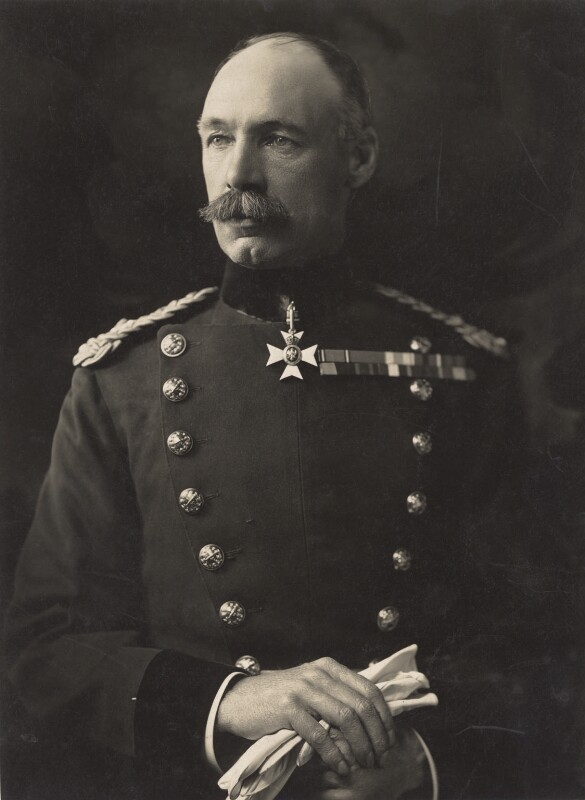Henry Seymour Rawlinson, 1st Baron Rawlinson of Trent, by Henry Walter ('H. Walter') Barnett, early-mid 1910s - NPG x45447 - © National Portrait Gallery, London