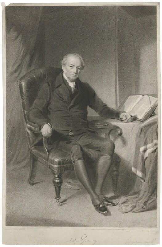 Sir John Gurney, by James Posselwhite, after  George Richmond, 1830s - NPG D35073 - © National Portrait Gallery, London
