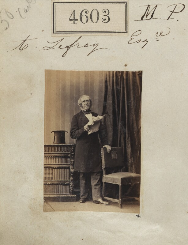 Anthony Lefroy, by Camille Silvy, 26 June 1861 - NPG Ax54615 - © National Portrait Gallery, London