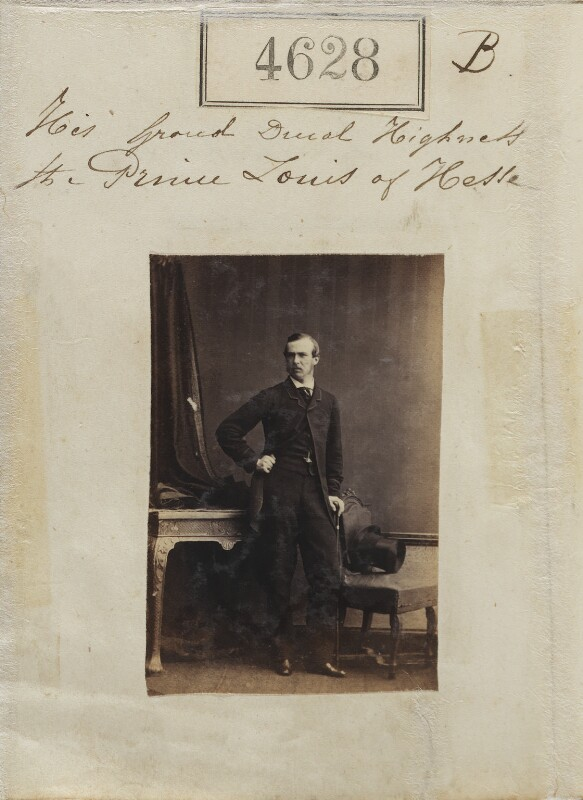 Louis IV, Grand Duke of Hesse and by Rhine, by Camille Silvy, 27 June 1861 - NPG Ax54640 - © National Portrait Gallery, London