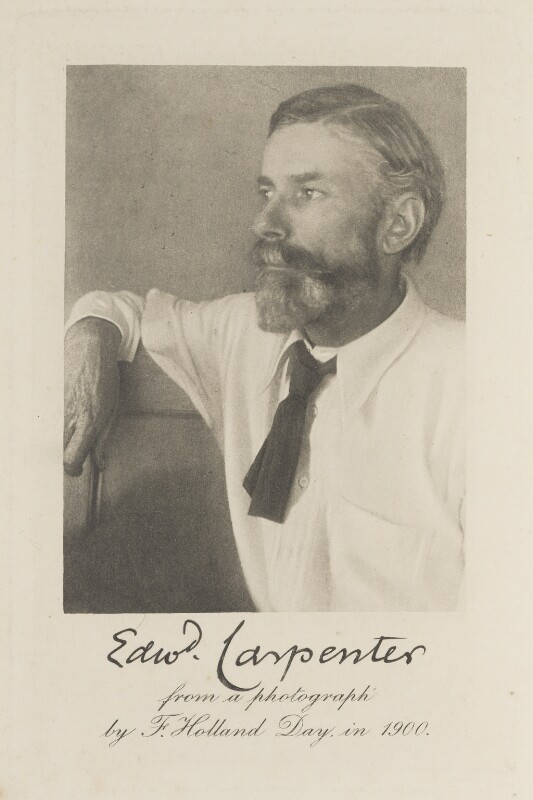 Edward Carpenter, by Fred ('F') Holland Day, 1900 - NPG Ax45350 - © National Portrait Gallery, London