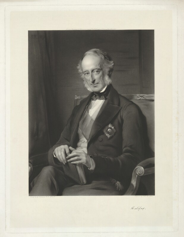 Charles Wood, 1st Viscount Halifax, by John Douglas Miller, published by  Paul and Dominic Colnaghi & Co, after  George Richmond, published 12 December 1884 (1873) - NPG D35218 - © National Portrait Gallery, London
