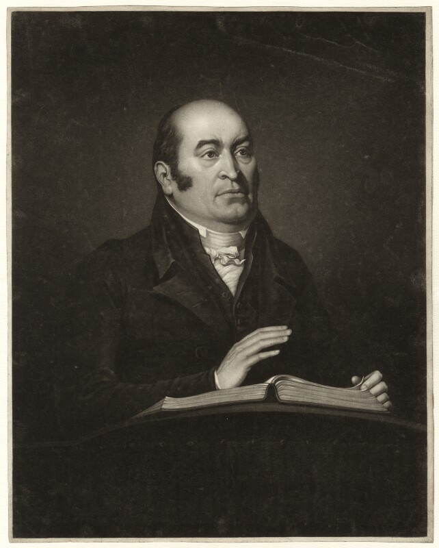 Robert Hall, after John Flower, early 19th century - NPG D35225 - © National Portrait Gallery, London