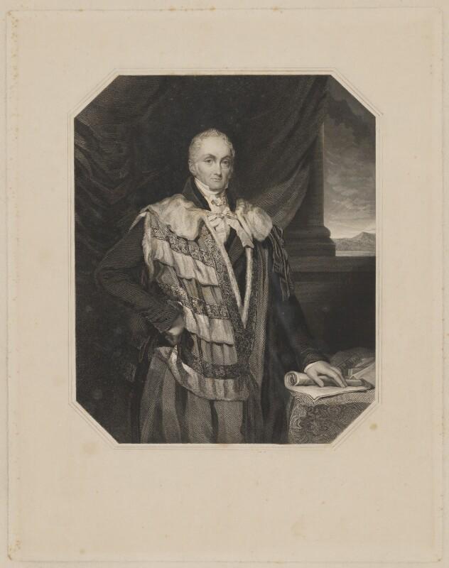 William Courtenay, 10th Earl of Devon, by Joseph Brown, after  Elizabeth Walker (née Reynolds), 1835 or after - NPG D35153 - © National Portrait Gallery, London
