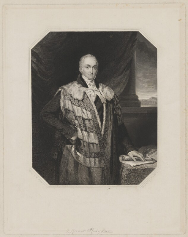 William Courtenay, 10th Earl of Devon, by Joseph Brown, after  Elizabeth Walker (née Reynolds), 1835 or after - NPG D35154 - © National Portrait Gallery, London