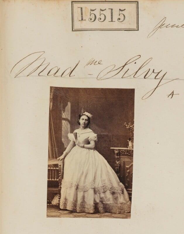 (Louise Marie Elisabeth Lucie) Alice Silvy (née Monnier), by Camille Silvy, 17 June 1864 - NPG Ax63447 - © National Portrait Gallery, London