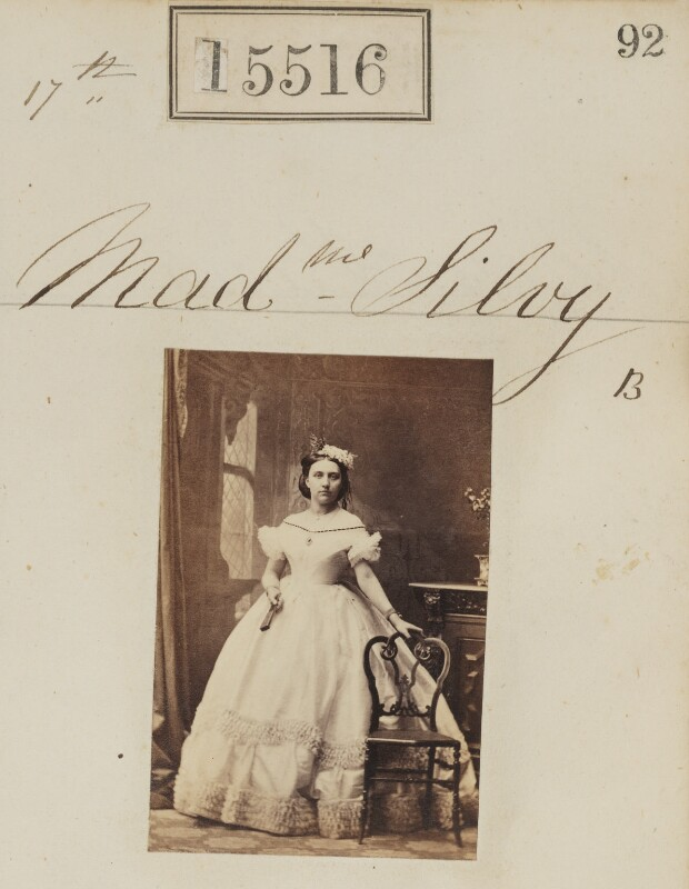 (Louise Marie Elisabeth Lucie) Alice Silvy (née Monnier), by Camille Silvy, 17 June 1864 - NPG Ax63448 - © National Portrait Gallery, London