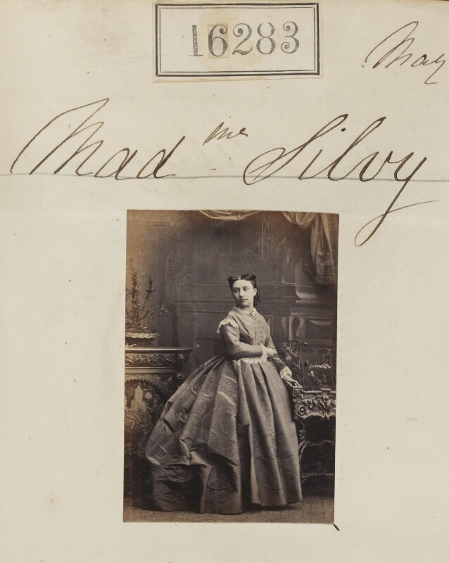 (Louise Marie Elisabeth Lucie) Alice Silvy (née Monnier), by Camille Silvy, 1 May 1865 - NPG Ax64199 - © National Portrait Gallery, London