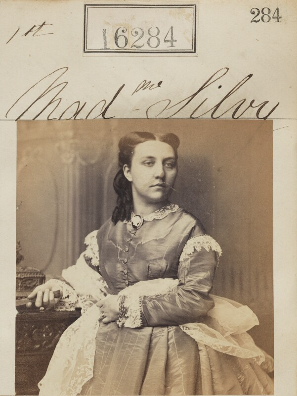 (Louise Marie Elisabeth Lucie) Alice Silvy (née Monnier), by Camille Silvy, 1 May 1865 - NPG Ax64200 - © National Portrait Gallery, London