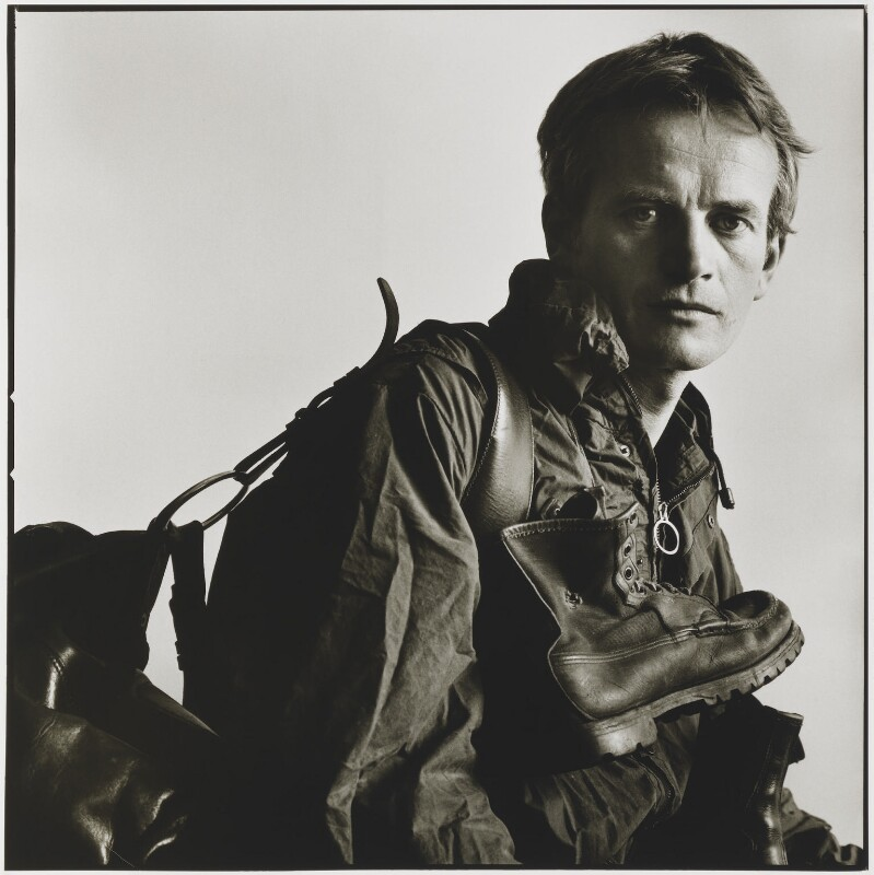 Bruce Chatwin, by Lord Snowdon, 28 July 1982 - NPG P804 - © Armstrong Jones