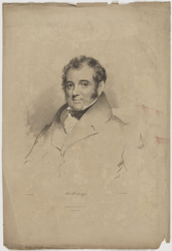 Lewis Weston Dillwyn, by Maxim Gauci, printed by  Graf & Soret, published by  Colnaghi, Son & Co, after  Eden Upton Eddis, published 1833 - NPG D35188 - © National Portrait Gallery, London