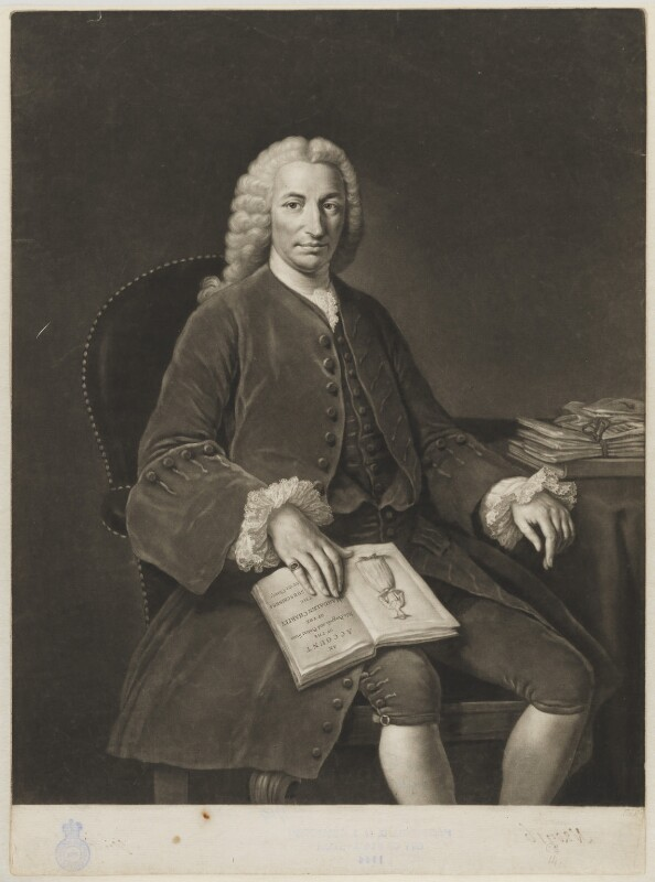Robert Dingley, by John Dixon, after  William Hoare, (1762) - NPG D35190 - © National Portrait Gallery, London
