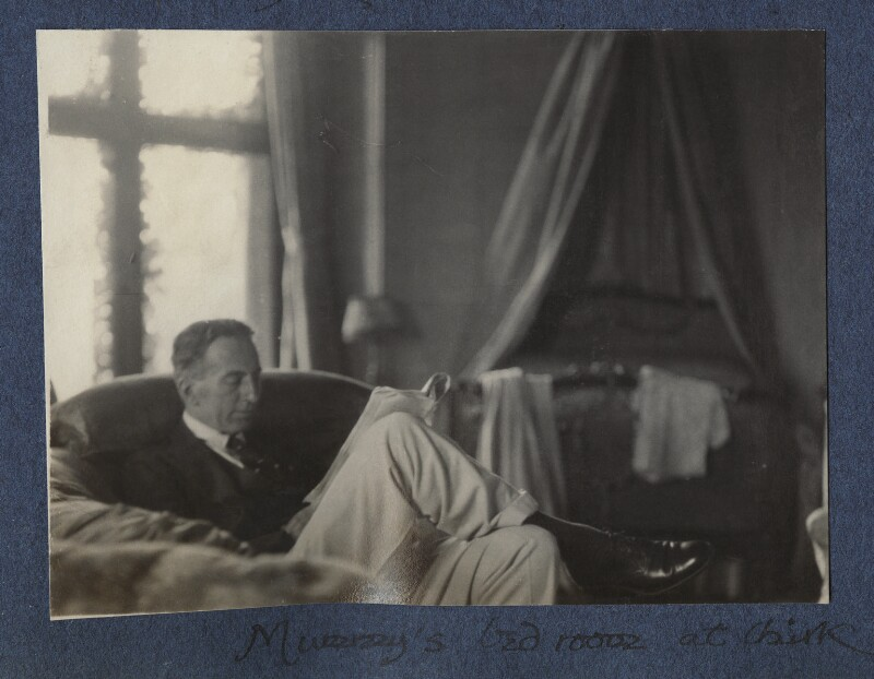 'Mummy's bedroom at Chirk' (Philip Edward Morrell), possibly by Julian Vinogradoff (née Morrell), 15 September 1924 - NPG Ax141887 - © National Portrait Gallery, London