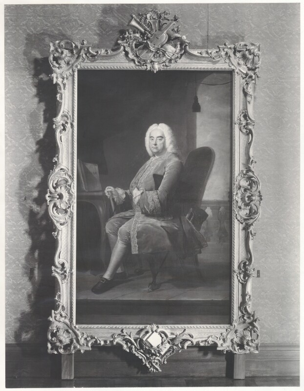 George Frideric Handel, after Thomas Hudson, (1756) - NPG D35305 - © National Portrait Gallery, London