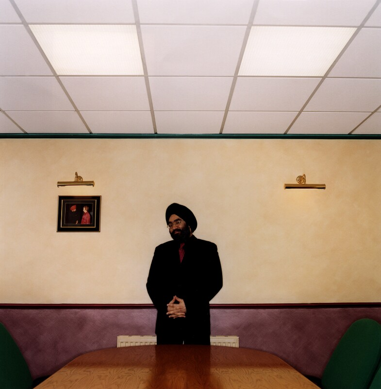 Reuben Singh, by Trevor Ray Hart, 20 December 1999 - NPG x88717 - © National Portrait Gallery, London