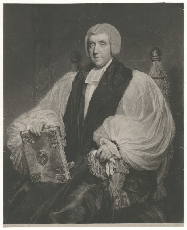 Edward Venables Vernon Harcourt, by and published by William James Ward, after  William Owen, published September 1828 (1811) - NPG D35312 - © National Portrait Gallery, London
