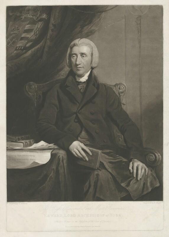 Edward Venables Vernon Harcourt, by Henry Meyer, published by  Josiah Boydell, after  John Jackson, published 6 July 1815 (1813) - NPG D35316 - © National Portrait Gallery, London