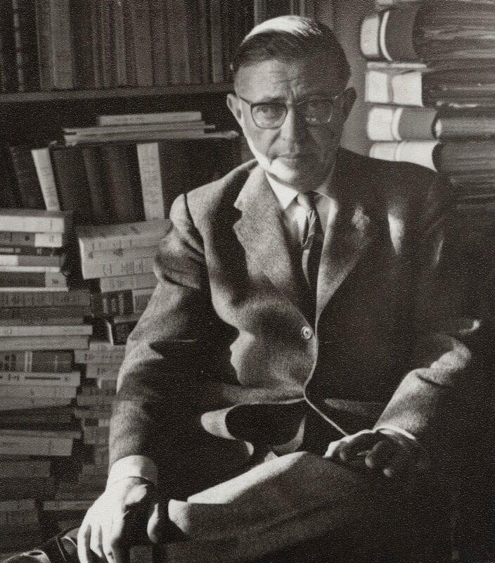 Jean-Paul Sartre, by Ida Kar, 1961 - NPG x132745 - © National Portrait Gallery, London