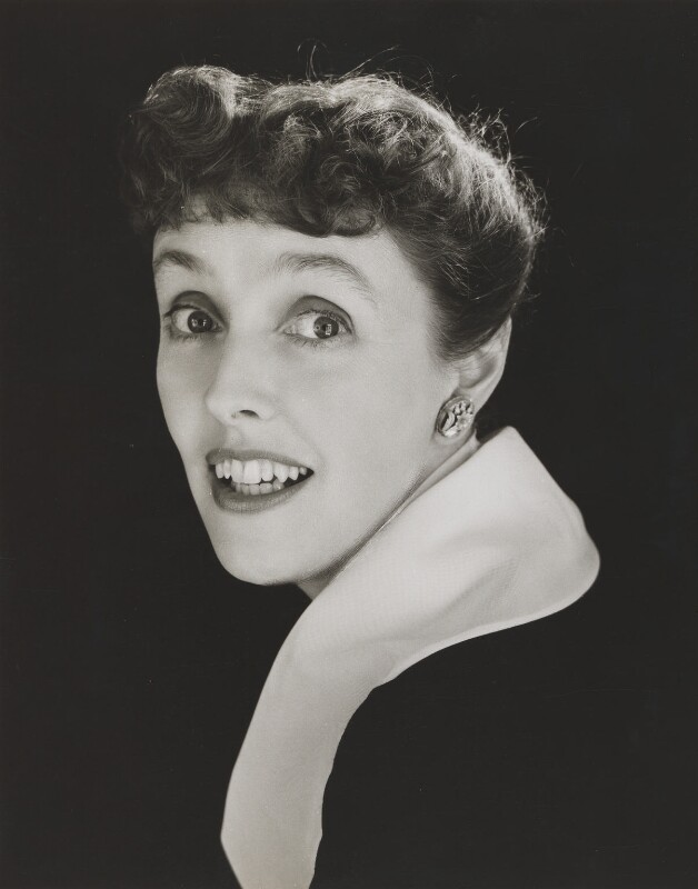 Joyce Grenfell, by Lord Snowdon, 1950s - NPG P814 - © Armstrong Jones