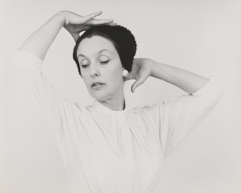 Joyce Grenfell, by Lord Snowdon, 1950s - NPG P815 - © Armstrong Jones