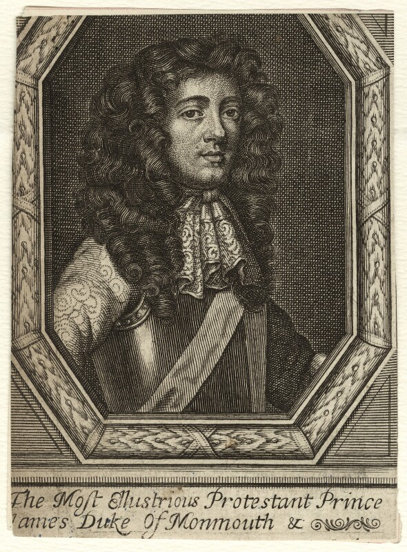 James Scott, Duke of Monmouth and Buccleuch, probably by Frederick Hendrik van Hove, after  William Sheppard, circa 1675-1685 - NPG D35402 - © National Portrait Gallery, London