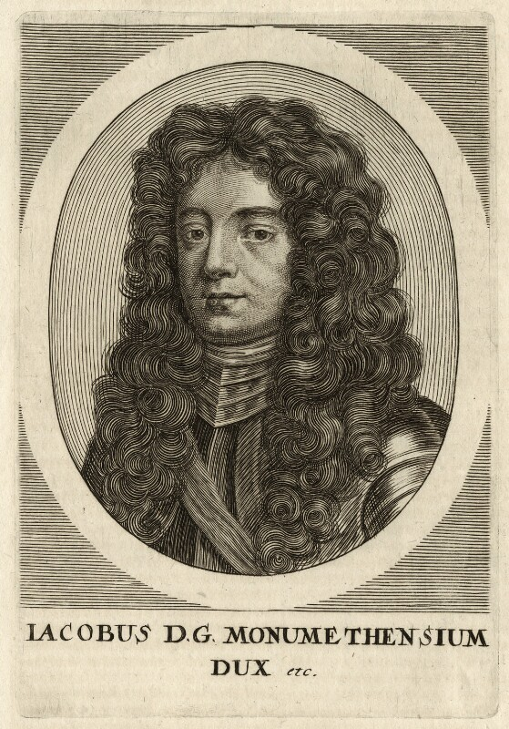 James Scott, Duke of Monmouth and Buccleuch, by Unknown artist, late 17th century - NPG D35403 - © National Portrait Gallery, London