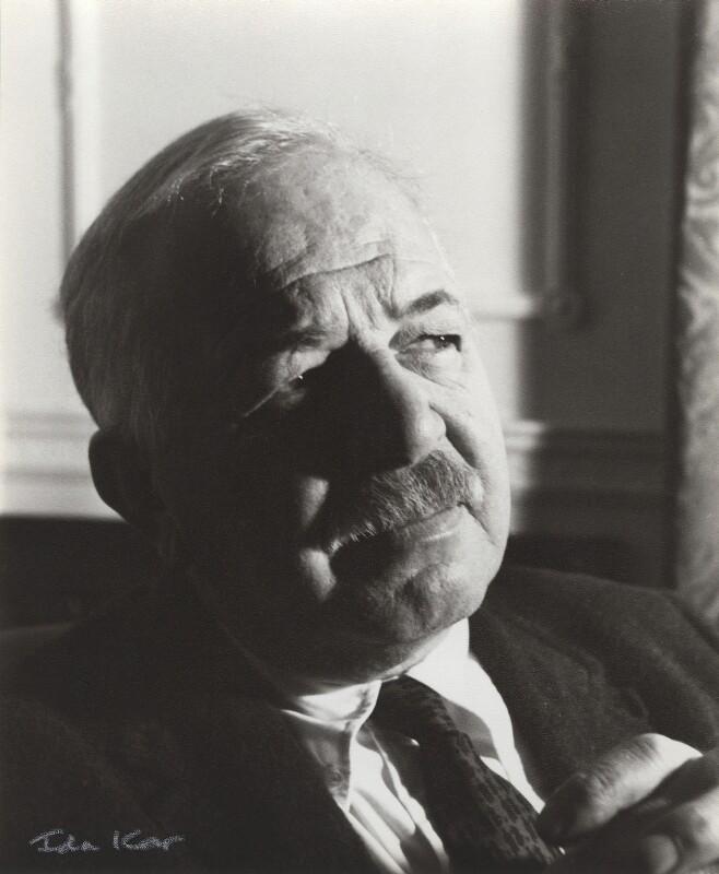 Ben Shahn, by Ida Kar, late 1950s - NPG x132749 - © National Portrait Gallery, London