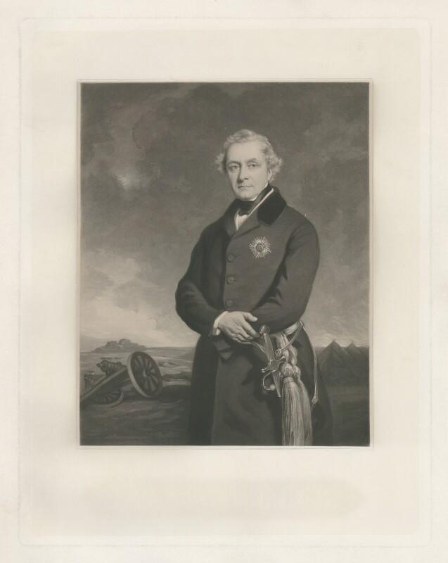 Henry Hardinge, 1st Viscount Hardinge of Lahore, by James Faed the Elder, after  Sir Francis Grant, 1851 (1849) - NPG D35408 - © National Portrait Gallery, London