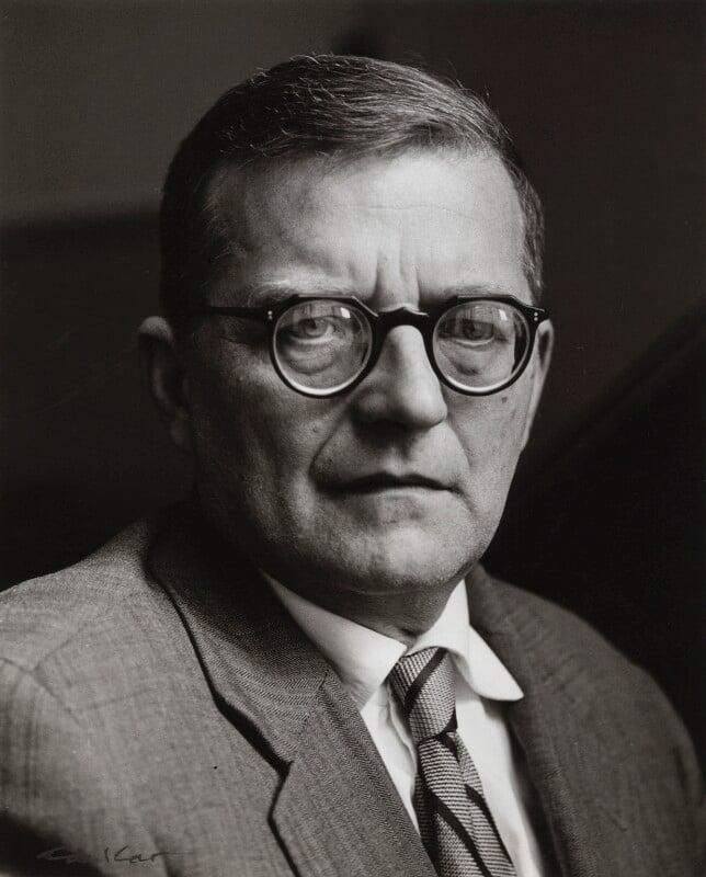 Dmitri Shostakovich, by Ida Kar, 1959 - NPG x132752 - © National Portrait Gallery, London