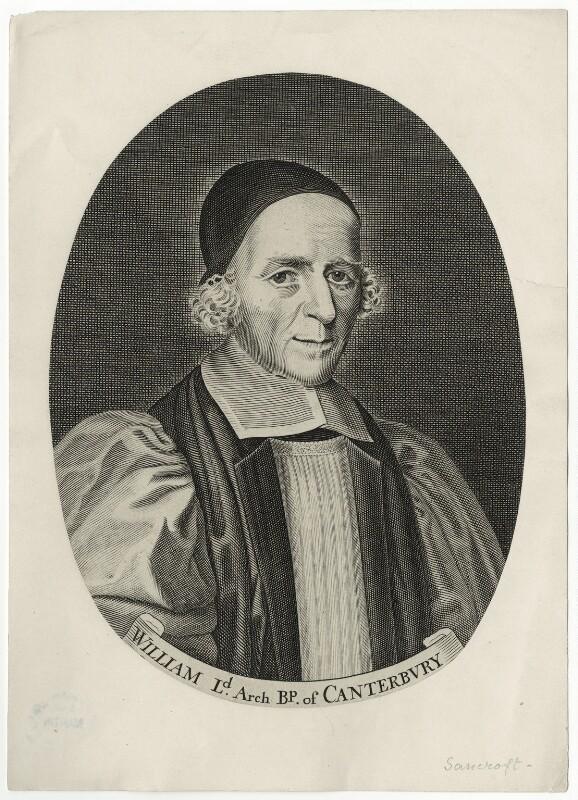 William Sancroft, after Edward Lutterell (Luttrell), (circa 1688) - NPG D35487 - © National Portrait Gallery, London