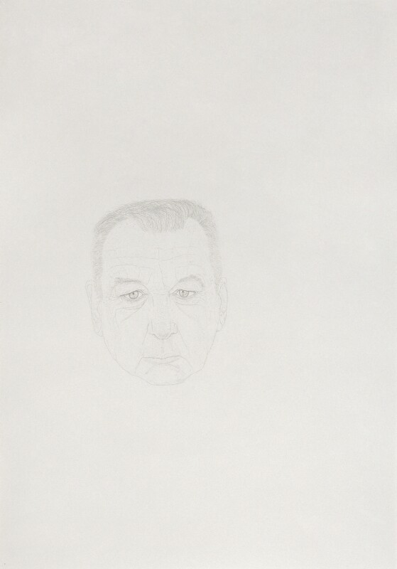 Michael Craig-Martin, by Michael Landy, 2008 - NPG 6873 - © National Portrait Gallery, London