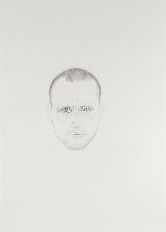 Michael Landy, by Michael Landy, 2008 - NPG 6874 - © National Portrait Gallery, London