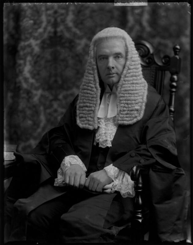 Sir Thomas Artemus Jones, by Bassano Ltd, 28 April 1919 - NPG x154467 - © National Portrait Gallery, London