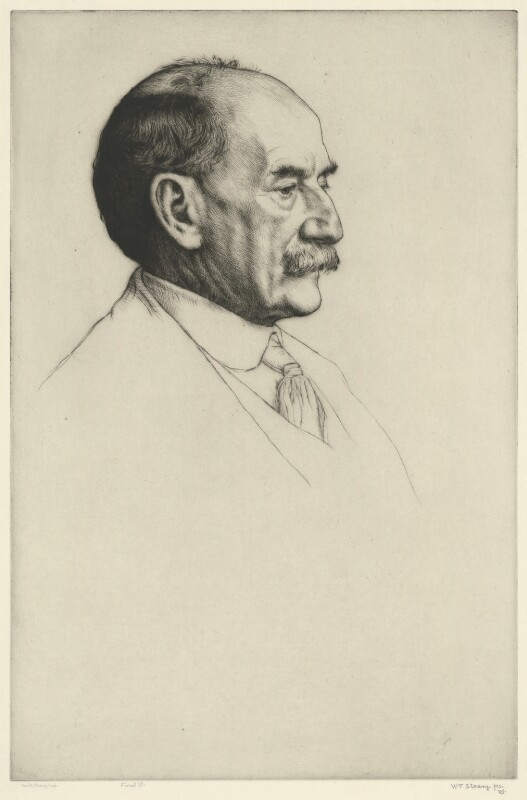 Thomas Hardy, by William Strang, printed by  David Strang, 1910 - NPG D35423 - © National Portrait Gallery, London