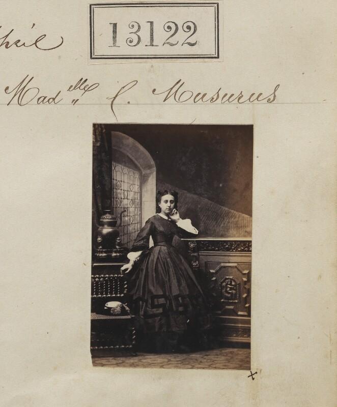 Cassandra Catalani (née Musurus), by Camille Silvy, 27 April 1863 - NPG Ax62763 - © National Portrait Gallery, London