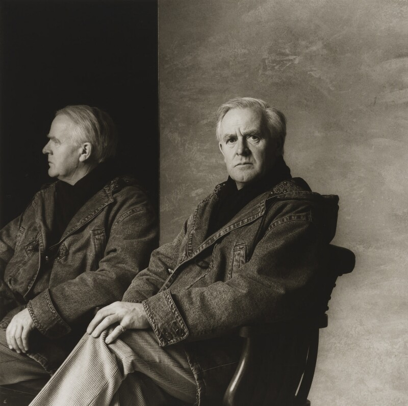 John Le Carré, by Lord Snowdon, 1 March 1989 - NPG P822 - © Armstrong Jones