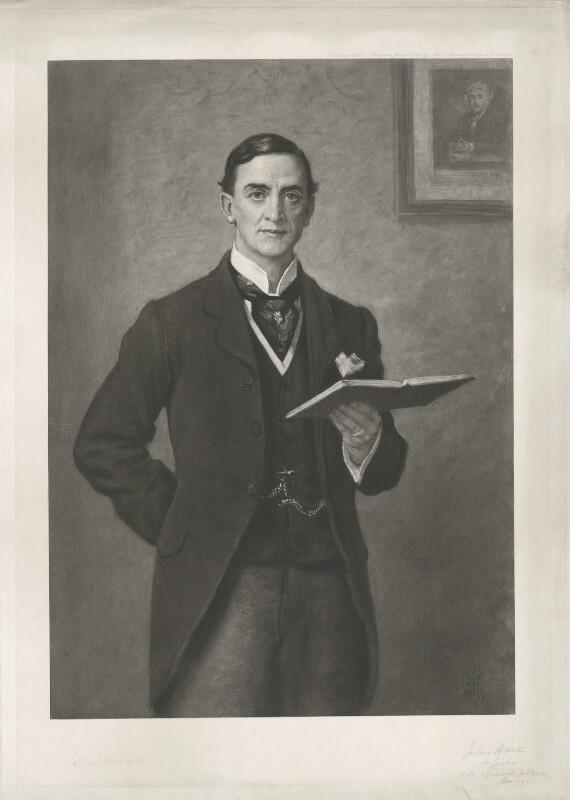 Sir John Hare, after Sir John Everett Millais, 1st Bt, (1893) - NPG D35431 - © National Portrait Gallery, London