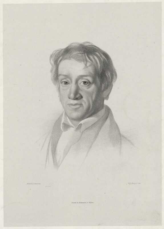Julius Charles Hare, by (Isaac) Weld Taylor, printed by  Hullmandel & Walton, after  Samuel Laurence, circa 1843-1863 - NPG D35433 - © National Portrait Gallery, London