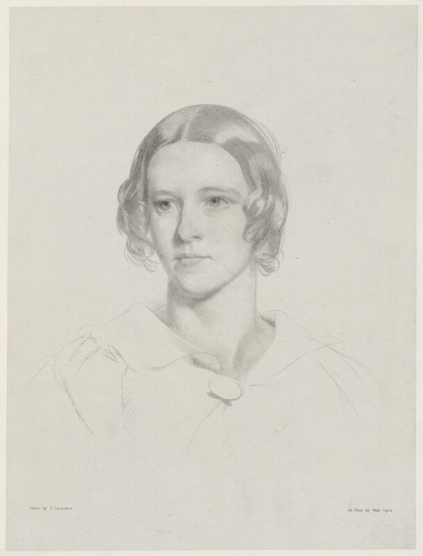 Lady Jane Esther Hare (née Maurice), by (Isaac) Weld Taylor, after  Samuel Laurence, mid 19th century - NPG D35434 - © National Portrait Gallery, London