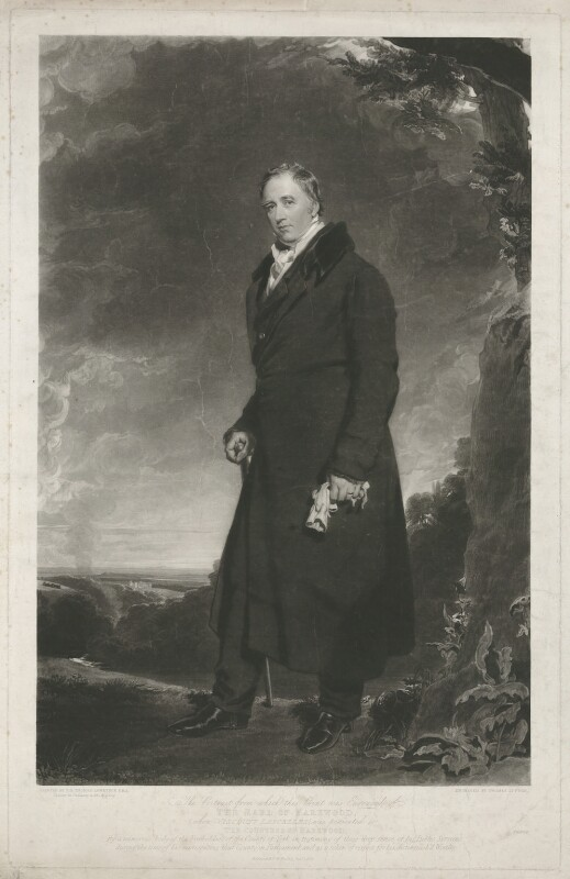 Henry Lascelles, 2nd Earl of Harewood, by Thomas Goff Lupton, published by  Robinson & Co, after  Sir Thomas Lawrence, published January 1840 (1823) - NPG D35437 - © National Portrait Gallery, London