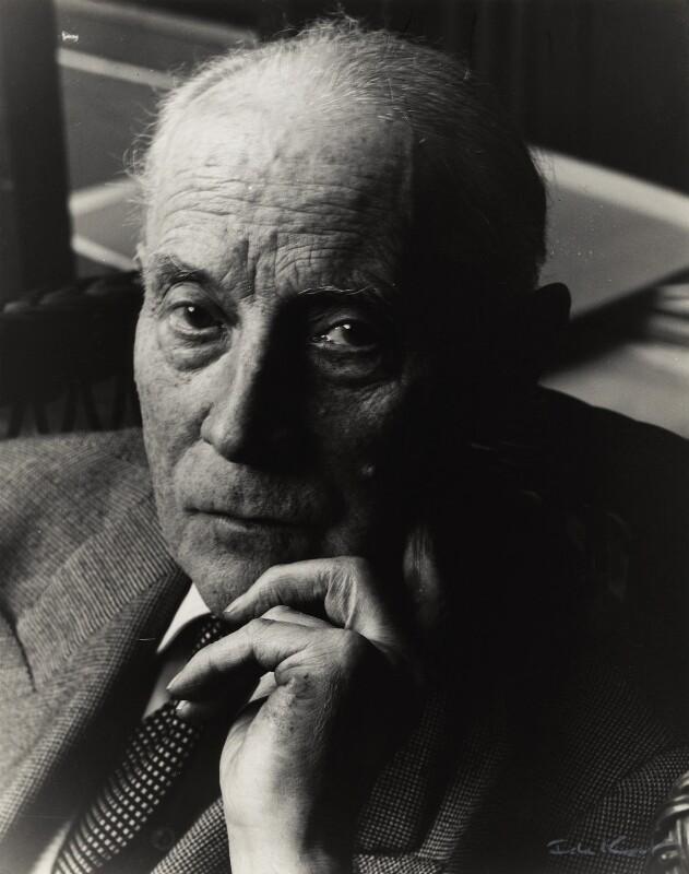 Jacques Villon, by Ida Kar, 1954 - NPG x132773 - © National Portrait Gallery, London