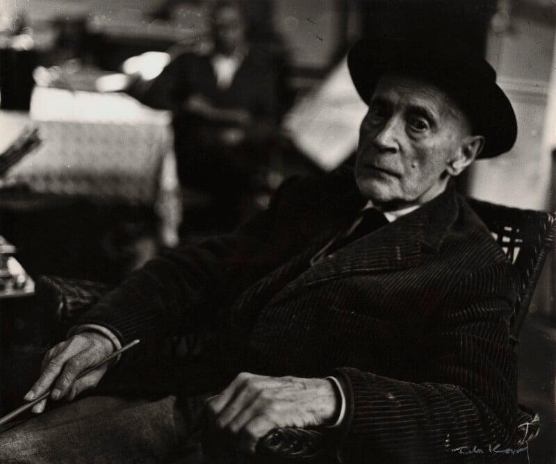 Jacques Villon, by Ida Kar, 1954 - NPG x132774 - © National Portrait Gallery, London