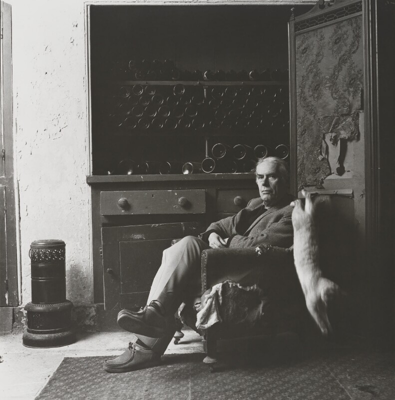 Anthony Powell, by Lord Snowdon, 16 January 1978 - NPG P833 - © Armstrong Jones