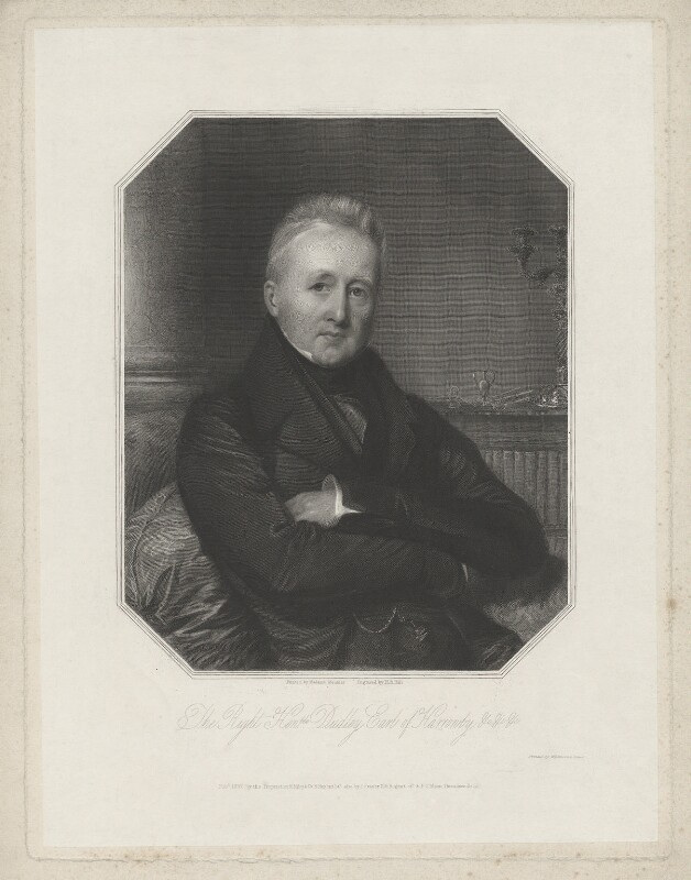 Dudley Ryder, 1st Earl of Harrowby, by Henry Bryan Hall, printed by  Wilkinson & Dawe, published by  R. Ryley, published by  James Fraser, published by  Sir Francis Graham Moon, 1st Bt, after  Madame Meunier, published 1837 - NPG D35538 - © National Portrait Gallery, London