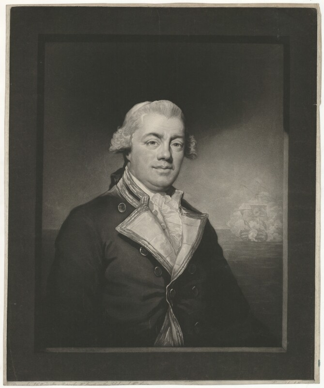 John Harvey, by John Murphy, published by and after  John George Wood, after  Gilbert Stuart, published 1795 - NPG D35552 - © National Portrait Gallery, London