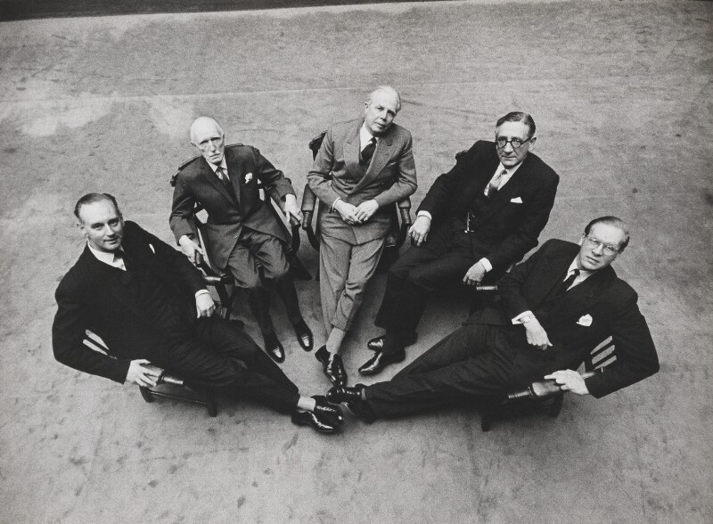 Thomas Agnew & Sons, Gallery Directors, by Lord Snowdon, 25 October 1963 - NPG P797(54) - © Armstrong Jones