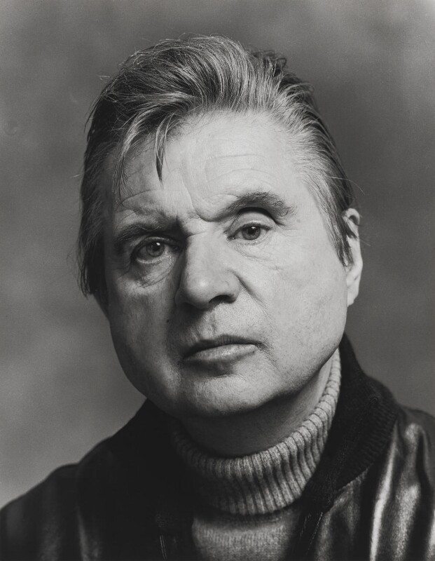 Francis Bacon, by Dmitri Kasterine, 2009, based on a work of 1978 - NPG P1321 - © Dmitri Kasterine